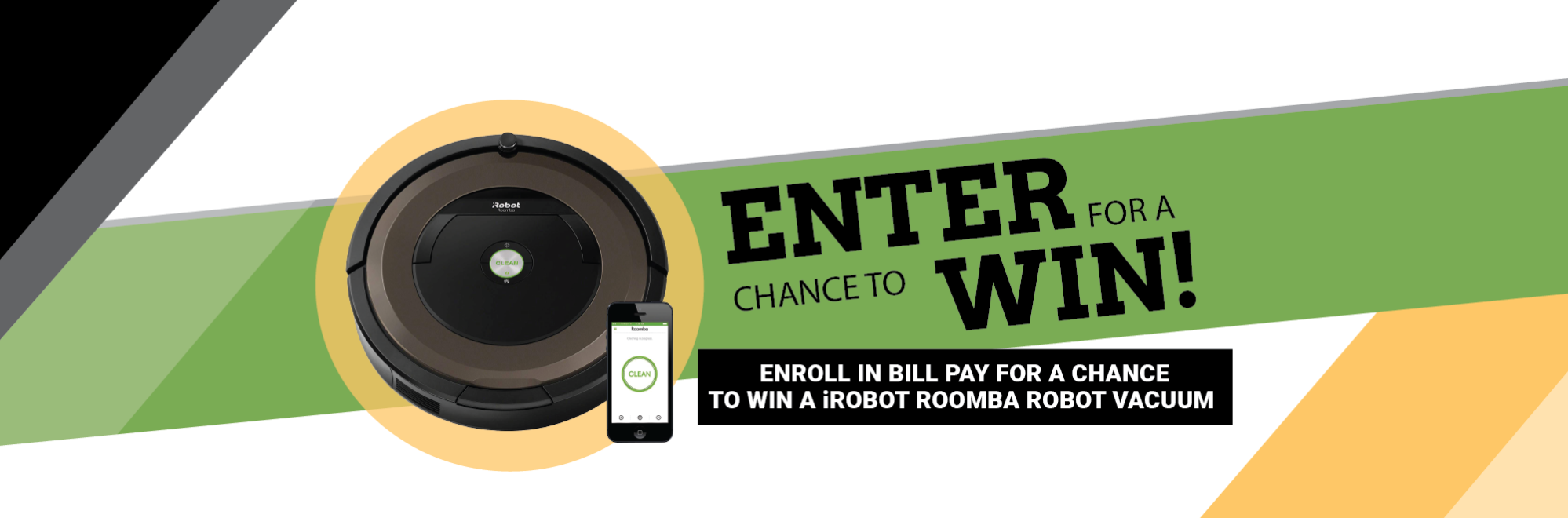 Image Enter for a chance to win by enrolling in Bill Pay with SACFCU.