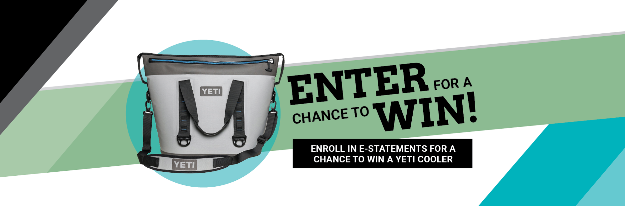 2019 e-Statement contest to win a Yeti Cooler.