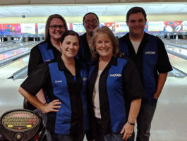 SACFCU Employees at the Zephyrhills Chamber Incredi-Bowl