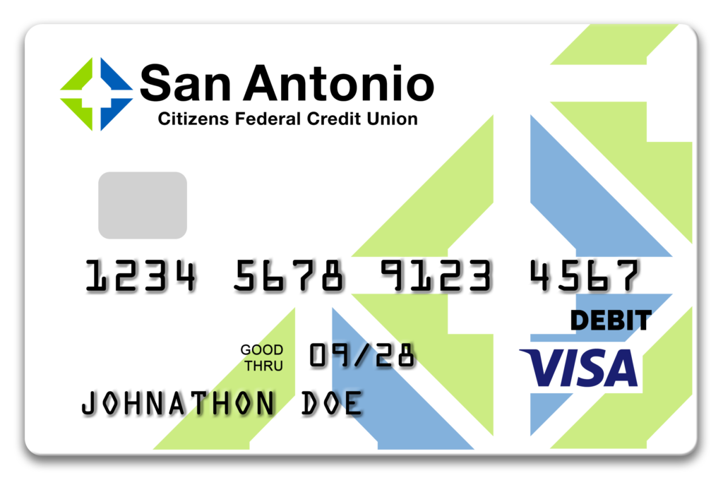 SACFCU's New Debit Card