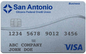 SACFCU Business Visa Credit Card