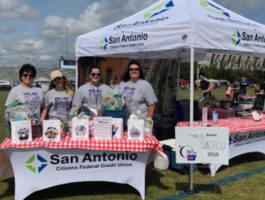 SACFCU's 2019 Relay for Life Tent - Team Italy