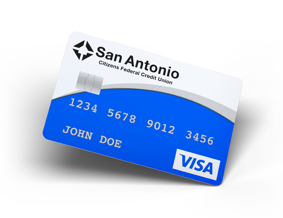 SACFCU Credit Card Example
