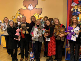 SACFCU's Build-A-Bear For a Cause Team