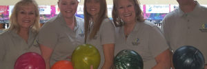 Picture of SACFCU Employees at the Greater Zephyrhills Chamber of Commerce Incredi-BOWL